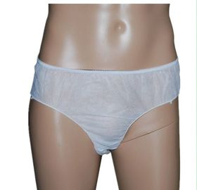 Lightweight Disposable SPA Products Men'S Disposable Briefs / Short Pants